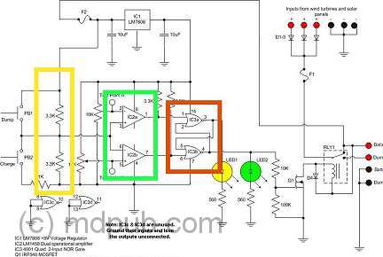 555Controller on on board charger wiring diagram