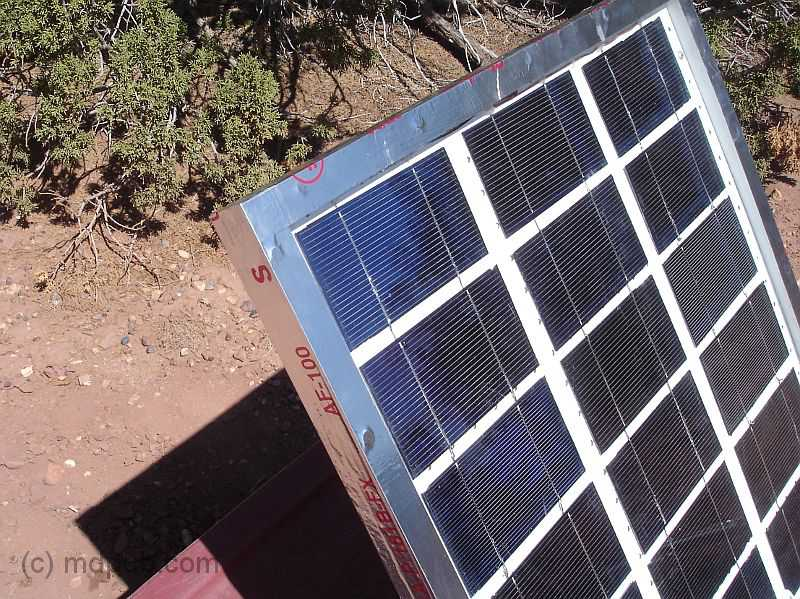 How i built an electricity producing solar panel the solar panel sealed with aluminum tape solutioingenieria Choice Image