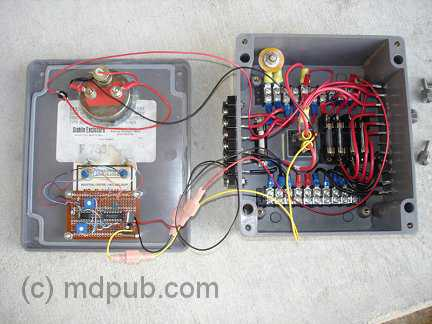A look inside the charge controller