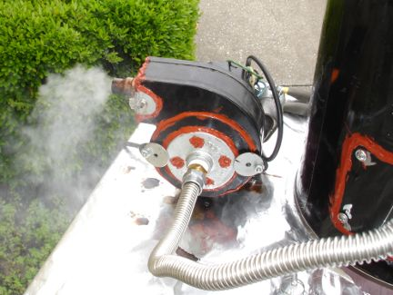 My Home Made Biomass Gasifier
