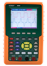 My Extech MS420: 20MHz 2-Channel Digital Oscilloscope.