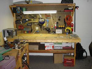 My neat and clean workbench