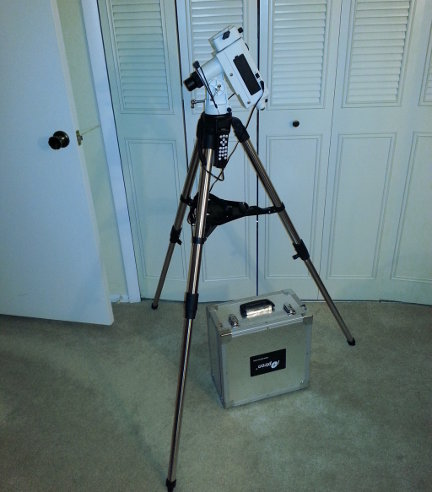 My new go-to equatorial mount.