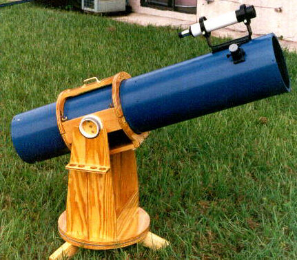 An 8in. f/6 Dobsonian telescope