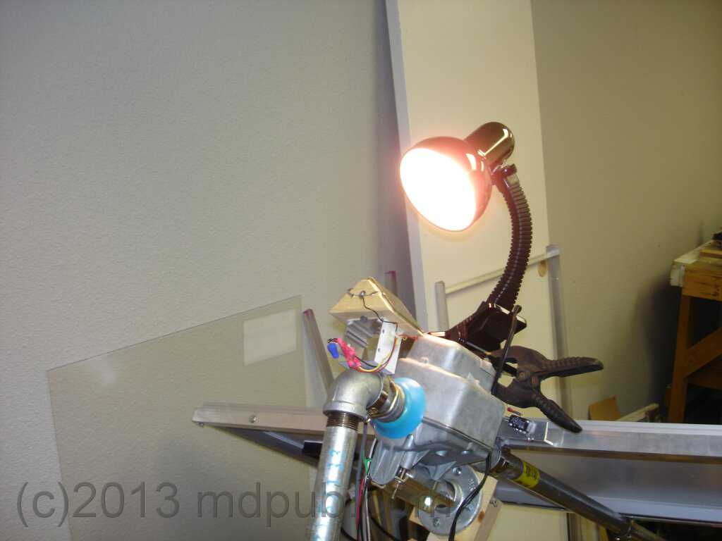 How I Built A Sun Tracker For My Solar Panels Simple Circuit Diagram Image Testing The With Lamp