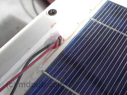 Cómo hacer un panel solar de 18 volts en casa 21