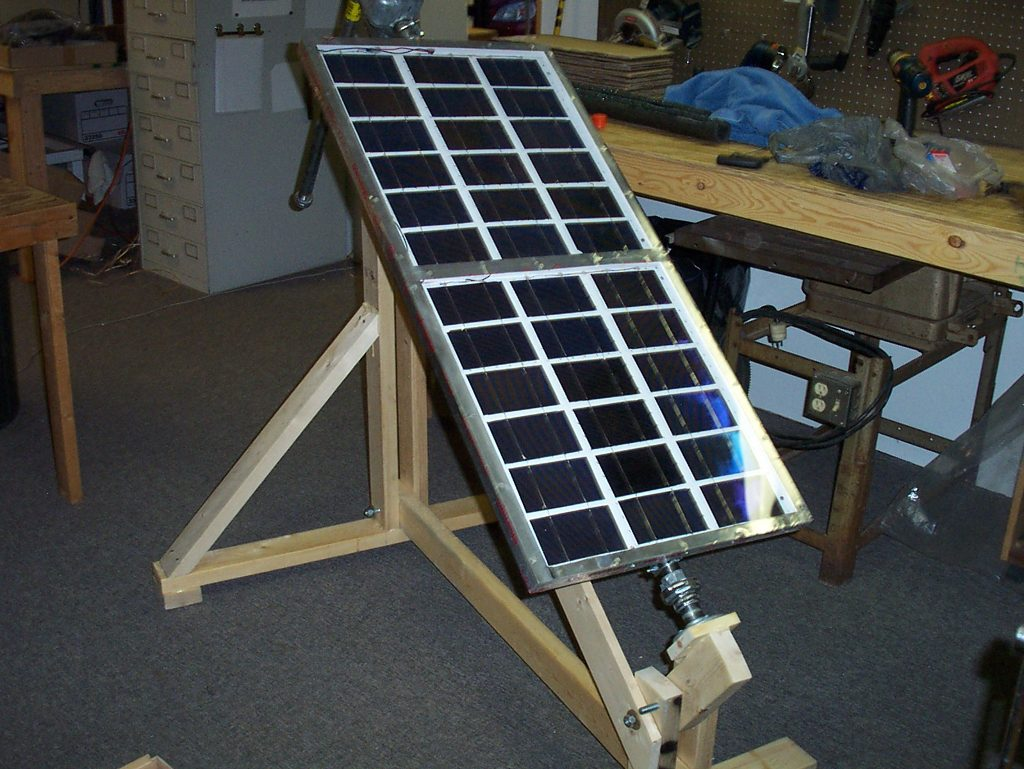 How I Built An Electricity Producing Solar Panel Visit Page Of Charger Circuit My Tracking Platform